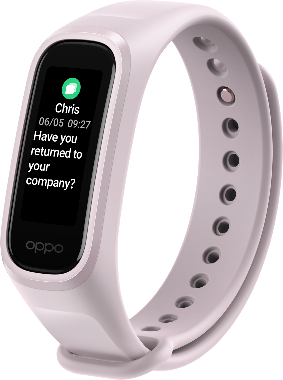 OPPO Band On-the-Go Functionality