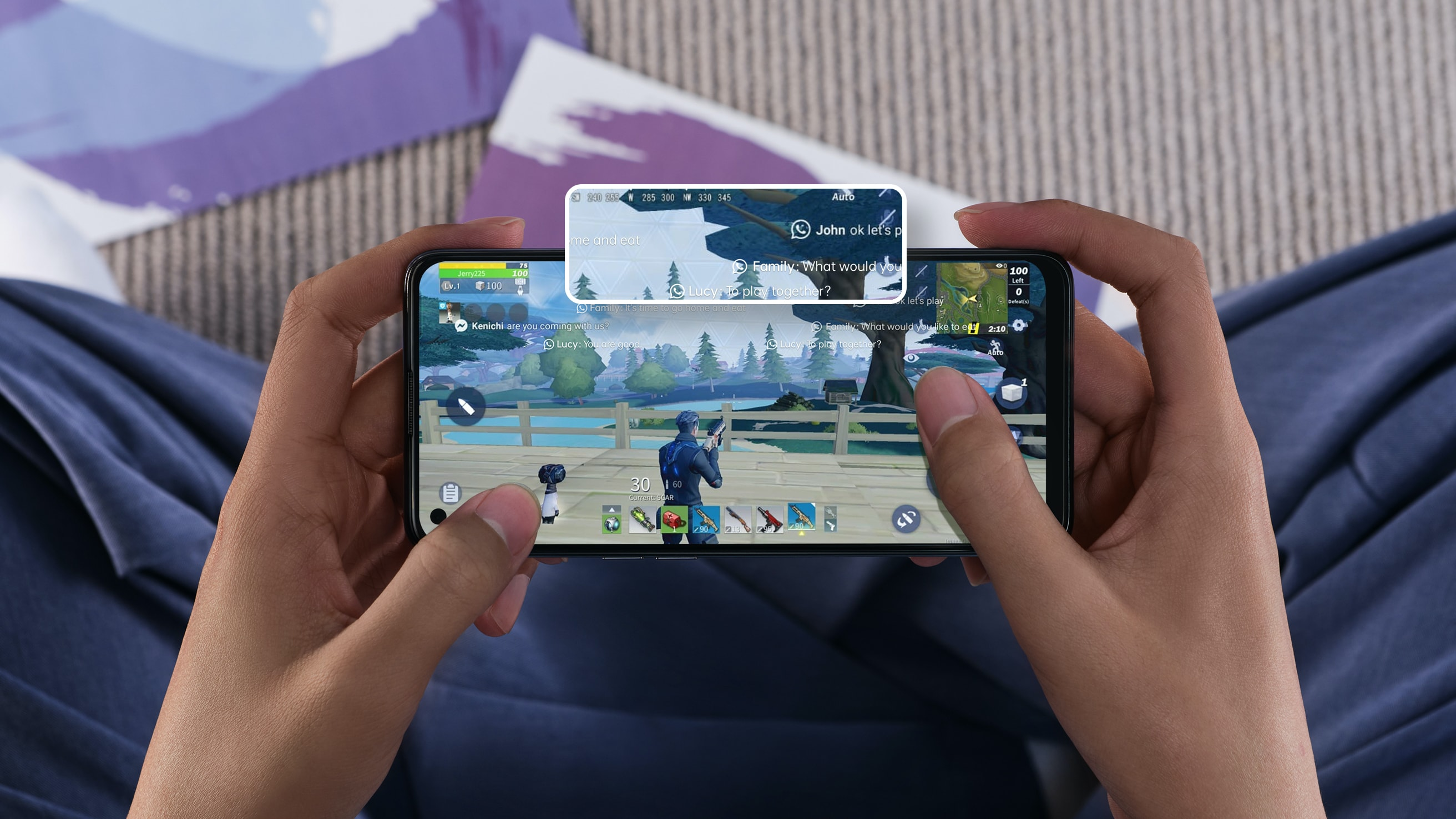 Game Focus Mode